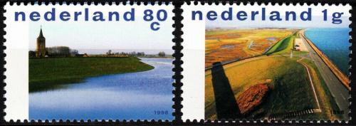 Poštovní známka Nizozemí 1998 Turistika Mi# 1661-62