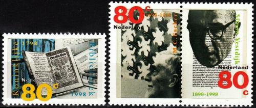 Poštovní známky Nizozemí 1998 Výroèí a události Mi# 1665-67