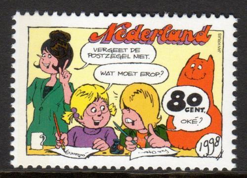 Poštovní známka Nizozemí 1998 Komiks Mi# 1678