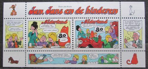 Poštovní známky Nizozemí 1998 Komiks Mi# Block 57