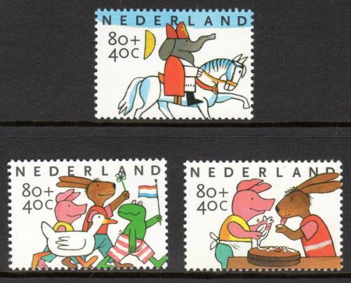 Poštovní známky Nizozemí 1998 Dìtské svátky Mi# 1680-82