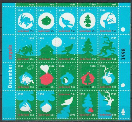 Poštovní známky Nizozemí 1998 Vánoce Mi# 1683-1702 Kat 12€