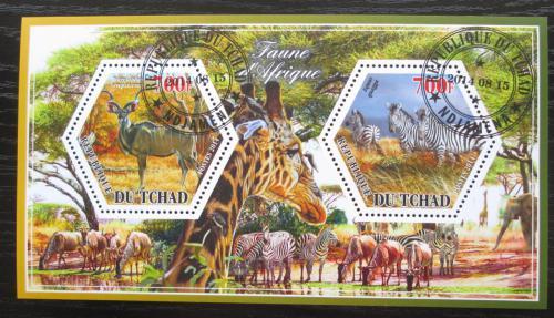 Poštovní známky Èad 2014 Africká fauna Mi# N/N