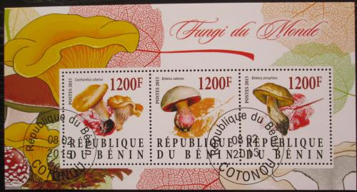 Poštovní známky Benin 2015 Houby Mi# N/N