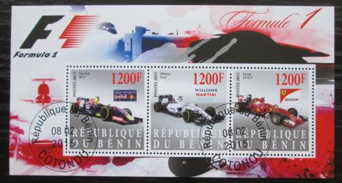 Poštovní známky Benin 2015 Formule 1 Mi# N/N