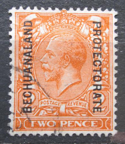 Poštovní známka Beèuánsko, Botswana 1925 Král Jiøí V. pøetisk Mi# 77