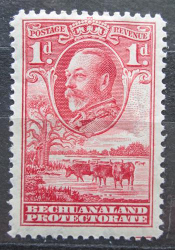 Poštovní známka Beèuánsko, Botswana 1932 Král Jiøí V. a stádo skotu Mi# 83