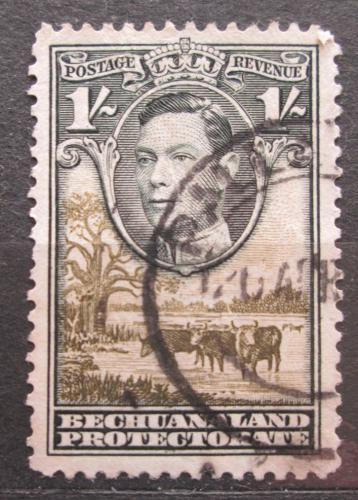 Poštovní známka Beèuánsko, Botswana 1938 Král Jiøí VI. a stádo skotu Mi# 108 Kat 9€