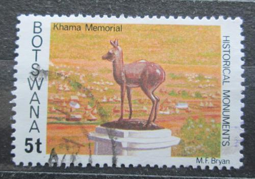 Poštovní známka Botswana 1977 Památník Khama Mi# 188