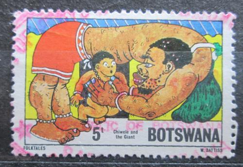 Poštovní známka Botswana 1980 Pohádka Chiwele a obr Mi# 253