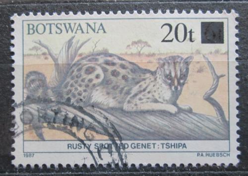 Poštovní známka Botswana 1990 Ženetka pøetisk Mi# 472