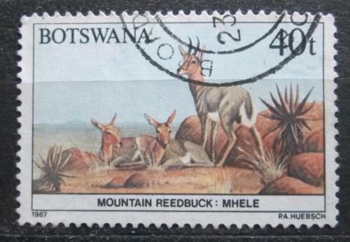 Poštovní známka Botswana 1987 Bahnivec horský Mi# 417