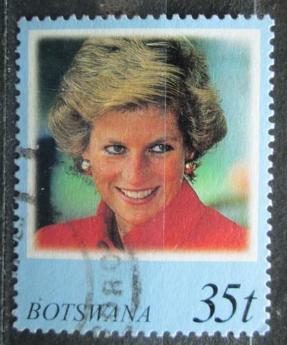Poštovní známka Botswana 1998 Princezna Diana Mi# 662