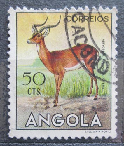Poštovní známka Angola 1955 Impala Mi# 373