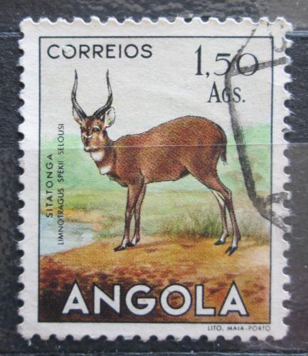 Poštovní známka Angola 1955 Sitatunga Mi# 375