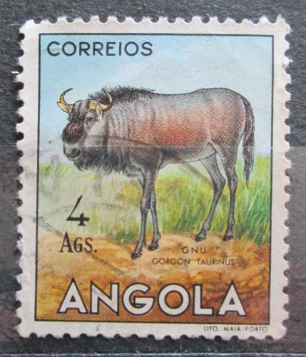 Poštovní známka Angola 1955 Pakùò žíhaný Mi# 381