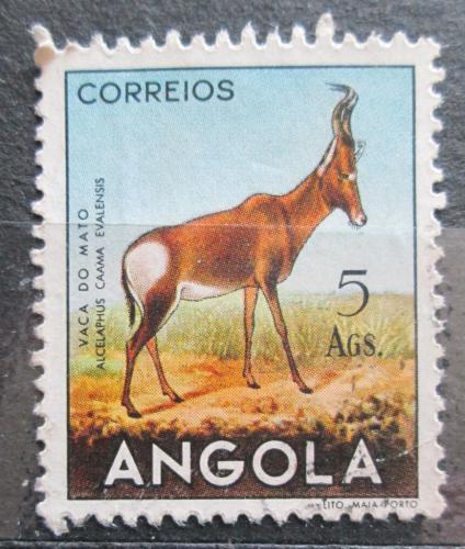 Poštovní známka Angola 1955 Buvolec stepní Mi# 382