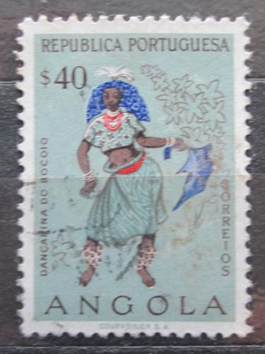 Poštovní známka Angola 1957 Taneènice z Bocoio Mi# 406