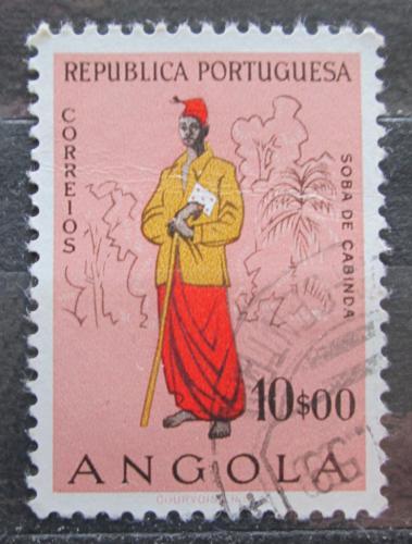 Poštovní známka Angola 1957 Náèelník z Cabinda Mi# 412