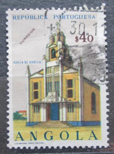 Poštovní známka Angola 1963 Kostel, Gabela Mi# 496