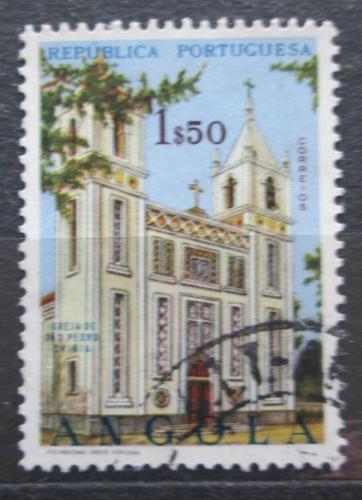 Poštovní známka Angola 1963 Kostel, Chibia Mi# 499