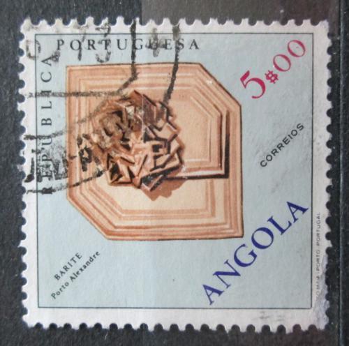 Poštovní známka Angola 1970 Baryt Mi# 572