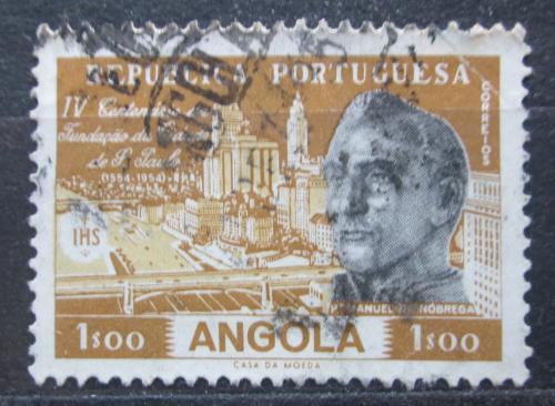 Poštovní známka Angola 1954 Páter Manuel da Nóbrega Mi# 389