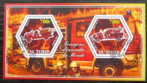 Poštovní známky Èad 2014 Hasièská auta Mi# N/N