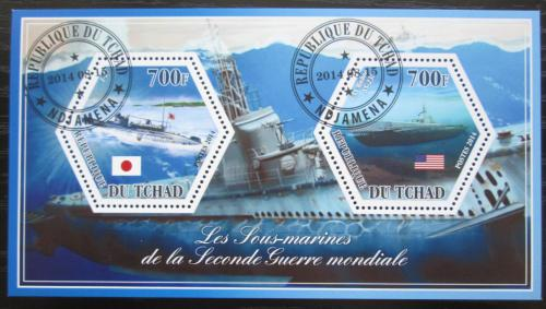 Poštovní známky Èad 2014 Ponorky Mi# N/N