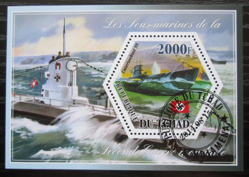Poštovní známka Èad 2014 Ponorky Mi# N/N