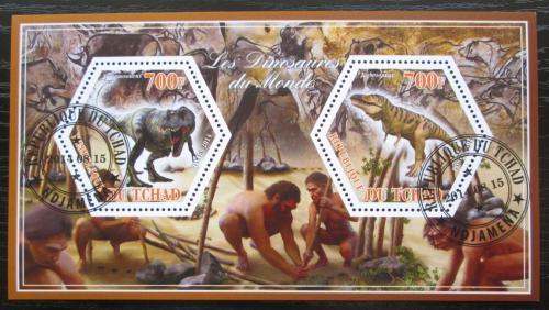 Poštovní známky Èad 2014 Dinosauøi Mi# N/N