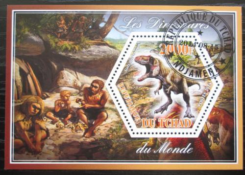 Poštovní známka Èad 2014 Dinosauøi Mi# N/N