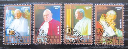 Poštovní známky Èad 2014 Papež Jan Pavel II. Mi# N/N