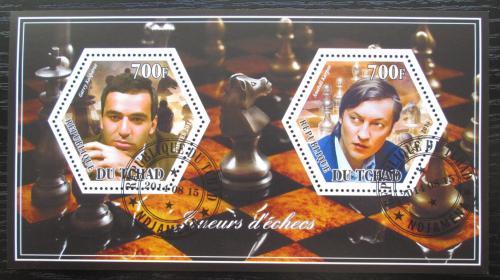 Poštovní známky Èad 2014 Slavní šachisti Mi# N/N
