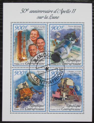 Poštovní známky SAR 2019 Apollo 11, prùzkum Mìsíce Mi# N/N
