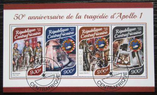 Poštovní známky SAR 2017 Apollo 1, prùzkum Mìsíce Mi# 7535-38 Kat 16€