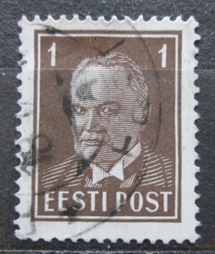 Poštovní známka Estonsko 1936 Prezident Konstantin Päts Mi# 113