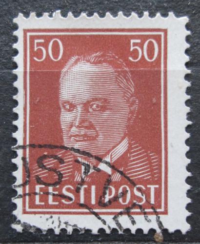 Poštovní známka Estonsko 1936 Prezident Konstantin Päts Mi# 124
