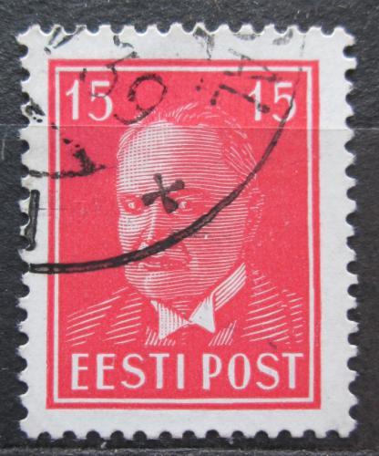 Poštovní známka Estonsko 1937 Prezident Konstantin Päts Mi# 125