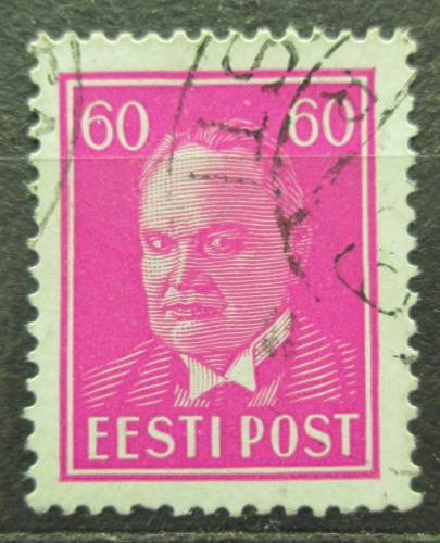 Poštovní známka Estonsko 1937 Prezident Konstantin Päts Mi# 126 Kat 7€