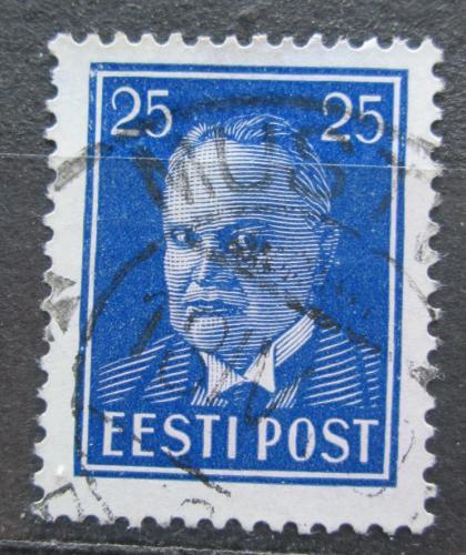 Poštovní známka Estonsko 1938 Prezident Konstantin Päts Mi# 135