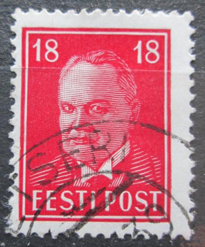 Poštovní známka Estonsko 1939 Prezident Konstantin Päts Mi# 146 Kat 8€