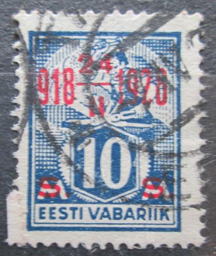 Poštovní známka Estonsko 1928 Nezávislost, 10. výroèí  Mi# 70