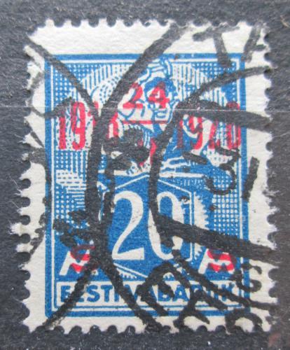 Poštovní známka Estonsko 1928 Nezávislost, 10. výroèí  Mi# 72
