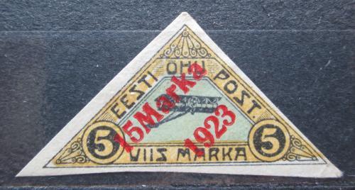 Poštovní známka Estonsko 1923 Letadlo neperf. Mi# 42 a Kat 30€