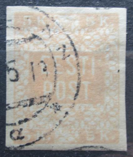 Poštovní známka Estonsko 1918 Nápis Mi# 1 B