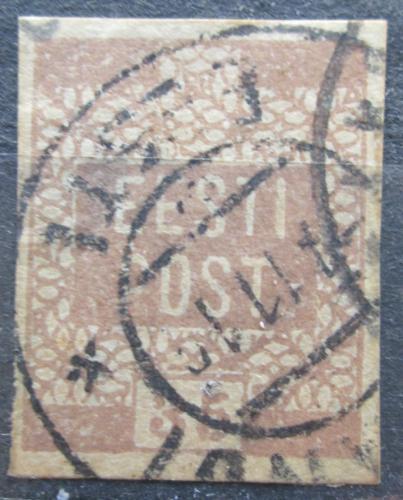 Poštovní známka Estonsko 1919 Nápis Mi# 3 a