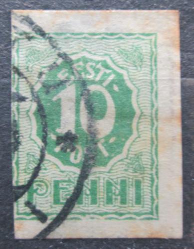 Poštovní známka Estonsko 1919 Nominální hodnota Mi# 8