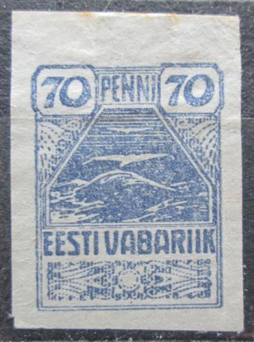 Poštovní známka Estonsko 1920 Racek Mi# 11