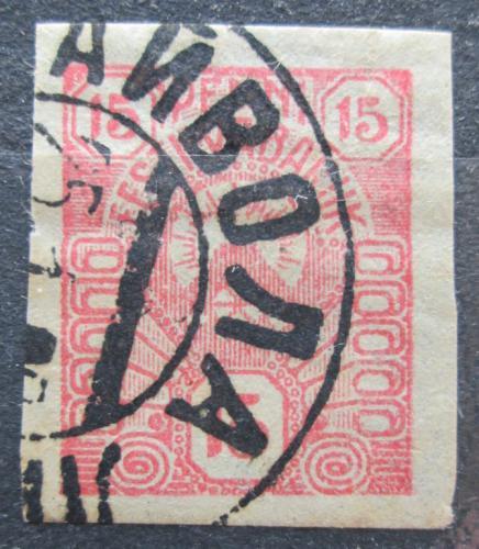 Poštovní známka Estonsko 1919 Slunce Mi# 9